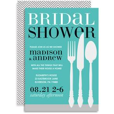6b0ee929b945 Housewares Shower - Blue Invitations by Doc Milo - Invitation Box