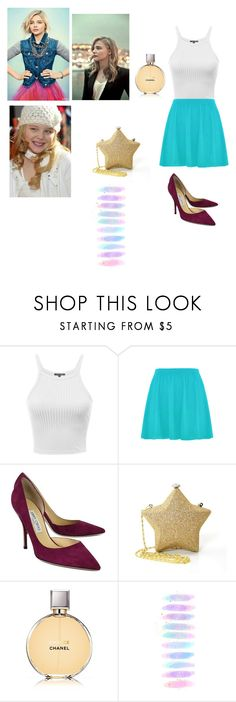 """""""if star butterfly light was on a show like scream queens outfit 358"""" by miliorobb on Polyvore featuring Jimmy Choo, Chloé, Chanel and Brush Strokes"""