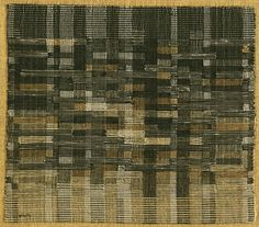 Annie Albers, Tapestry, 1948.  Handwoven linen and cotton