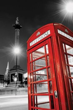 Red Telephone Box Photo at AllPosters.com