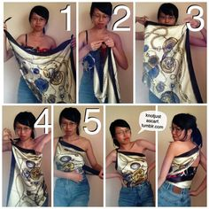 KNOT JUST A SCARF - 100+ Ways To Wear A Silk Scarf!