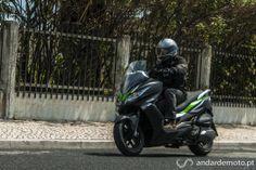 Test Drive Kawasaki J300