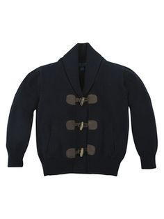 Tiny Toggler Sweater from Little Gents: Blazers, Button-Downs