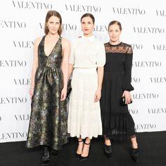 Vanessa Traina Snow, Samantha Traina and Victoria Traina at Valentino Sala Bianca 945
