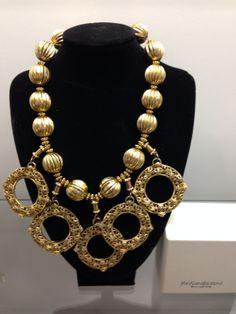 YSL 80s fantastic necklace