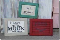ASCP hand painted signs