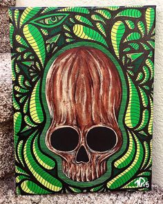 "9""x12"" original painting on stretched canvas $200 shipped anywhere in the US #tpaulkyart #tpaulky #headyart #supportlocalart #oprahsbookclub #chrontonomobay #hustleboro #buyboro #glassofig #wfayo #dopefam #smoke365 #ffourtwenty #weedstagram420 #highsociety #versace #stankyydankyy #keepitchronic #idgt #instaweed #bongbeauties #topshelflife #high_larry_us #losganjales #dabbersdaily #w420 #dablife #deepdream #hrbnlife #artlife by tpaulky"