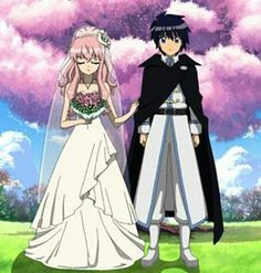 Aww Saito and Louise getting married ❤️