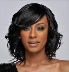 Black Hairstyles For Women 23 Beautiful Medium Hairstyles For Black Women  Pinterest  Medium