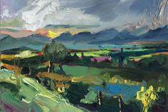 Richard Claremont #Art - #Provence, France - #Landscape #Oil #Paintings for Sale