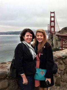 October 2013: Golden Gate Bridge in San Francisco, California.