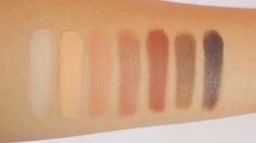 Vanilla Bean, Peach Smoothie, Creme Brulee, Frappe, Cocoa Bear, Mocha, Bada Bing Swatches - Makeup Geek