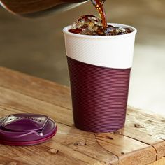 To Go Tumbler with Sleeve - Currant, 8 fl oz. $10.95 at StarbucksStore.com