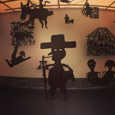 WAS THERE EVER A GREATER HAITIAN THAN SURREAL SILHOUETTIST GEORGES LIAUTAUD // THE MUSEUM OF EVERYTHING AT KUNSTHAL ROTTERDAM // http://www.kunsthal.nl/en/exhibitions/the-museum-of-everything/ // @musevery #musevery #haiti # blackculture #hipster