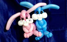 Welcome to a balloon twisting lesson that teaches you how to make colorful balloon Easter bunnies! These adorable rabbits are a lot of fun to make and involv...
