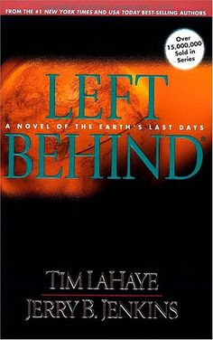 Left Behind by Tim LaHaye & Jerry B. Jenkins. On the new-to-us shelf at CTX Library