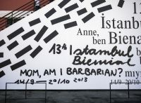 It's Nice That : Graphic Design: Lava do an excellent job of the Istanbul Biennial identity Political Forum, Museum Identity, Better Than Yours, Its Nice That, Barbarian, Art Festival, Motion Design, Visual Identity, Lava