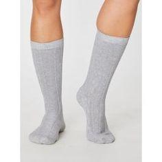 Lenore Organic Cotton Cable Socks