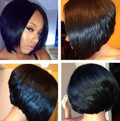 Amazing Bobs And Bob Weave On Pinterest Hairstyles For Women Draintrainus