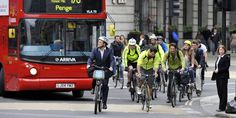 Bicycles Set to Overtake Cars in London