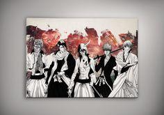 Bleach Byakuya Ichigo Espada Poster Anime Otaku Manga Print Fan Art n25