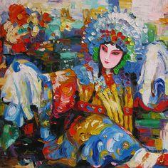 chinese opera art - Google Search