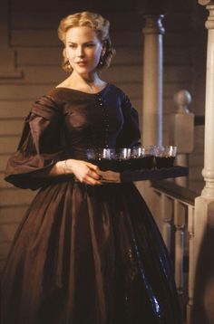 Nicole Kidman Cold Mountain brown Civil War Victorian Gown Dress Movie Costume  @TimeTravelStyle #timetravelcostumes