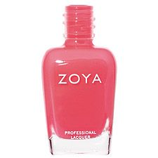 Or maybe this one!  Zoya Nail Polish in Kylie2 can be best described as: Bright red-orange coral in a milky creme finish. A bright and universally flattering shade.