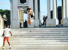 #throwbackthursday to January 2017 when @pyojany shred the stairs at #josegomezmonument in #havana #cuba He flew like an eagle ! #respect #positivedisruption #skateboarder #skateist #skatepunk #skateboardingisfun #SkateboardsForHope #skateboardsforhope #possibilitiesareendless #taketheleap #leapoffaith #skateboarding #hardcore #tbt #tbt