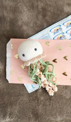 Crochet toy for preemie, Crochet jellyfish new baby gift, Crochet toy for newborn, Crochet Newborn props set Preemie Crochet, Newborn Crochet, Crochet Baby, Crocheted Jellyfish, Crochet Octopus, Crochet Gifts, Cute Crochet, Crochet Things, Easy Crochet Animals