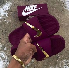 a0f1da76fef6 Nike Benassi Swoosh Ironman Golden Check Slides - Pre Order