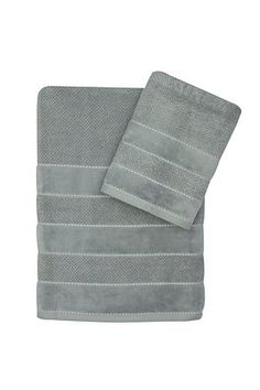"""100% cotton luxurious hand towel with Egyptian cotton fibres in a textured weave to give great absorbancy and a wonderful veloured border with subtle stich detail to give you a sophisticated and elegant looking towel.<div class=""""pdpDescContent""""><BR /><BR /><b class=""""pdpDesc"""">Fabric Content:</b><BR />100% Cotton<BR /><BR /><b class=""""pdpDesc"""">Wash Care:</b><BR>Gentle cycle cold wash</div>"""