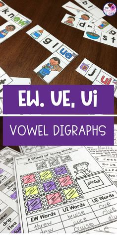 Long Vowels A, I, O, U CVCe and CVC Color by Code Winter