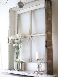 Old Window Crafts   Cleaning the Vintage Window ~ Beach Cottage Work in Progress ~ - Beach ...