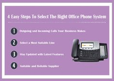 Good #communication is important for all the departments of the business and the right #office #phone system plays an essential role in this aspect.