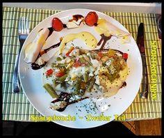 """""""Liebe geht durch den Magen"""" oder wenn das Essen sexy macht!: Spargelwoche– Zweiter Teil GrünerSpargel mit Papri..."""