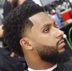 14.Fade Haircuts for Black Men