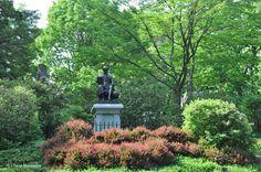Cosa vedere a Boston Mount Auburn Cemetery arte funeraria
