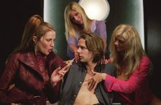 Lucy Lawless and Jacob Pitts in EuroTrip All Movies, Funny Movies, I Movie, Funniest Movies, Amazing Movies, Jacob Pitts, Lucy Lawless, Women Names, Weird Stories