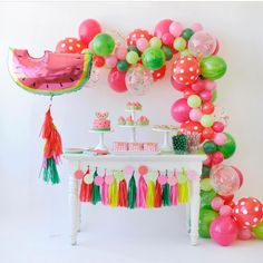 Were Excited To Share All The Details Of This Super Fruity Watermelon Party From Happy Wish Company Thats Extra Juicy And Delicious