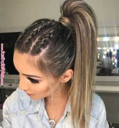 Pin by qunel.com on style & beauty inspiration in 2019 | Pinterest | Hair styles, Hair and Braids