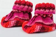 Bremer Deern: Babyschuhe schnell gestrickt