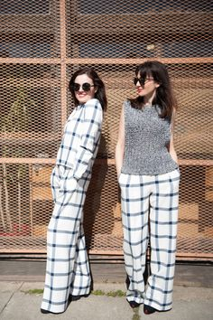 Gingham: http://www.stylemepretty.com/living/2015/03/18/spring-trendspotting-with-shopgirl/ | Photography: The Womens Project - http://theprojectforwomen.com/