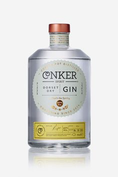 Conker Gin designed by Interabang.