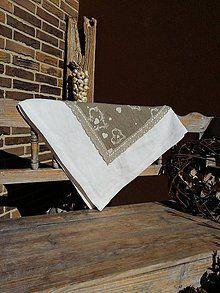 Úžitkový textil - Ľanový obrus Pure Nature II - 5826157_