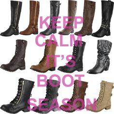 It's boots season!
