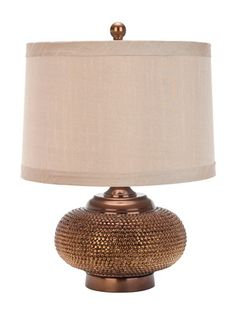Alexis Gold Bead Lamp (Set of 2) by Safavieh on Gilt Home