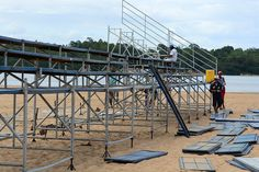 Prefeitura de Boa Vista, Praia Grande recebe estrutura para a final dos Jogos de Verão #pmbv #boavista #roraima #prefeituraboavista #jogosdeverao
