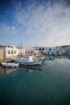 Naousa Harbour, Paros, Greece