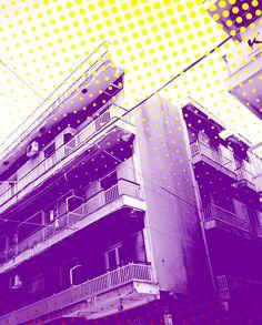 Ποπ αρτ - Pop art Building  in My City Patrai - Greece